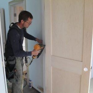 Hanging a new door